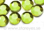 Flatback strass akryl 3mm - Olive Green