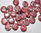"Magnesit ""Red Fantasy"", stora coins 16mm"