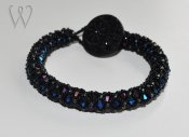 Beadwork armband - MIDNIGHT IN MANHATTAN