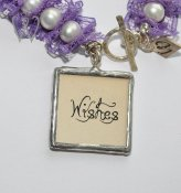Shabby Chic Collection armband - WISHES