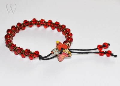 Street Smart Collection armband - POPPY FIELDS