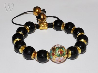 Shamballa Collection armband - DARK SECRET