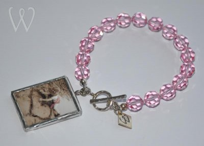 Shabby Chic Collection armband - LOVE